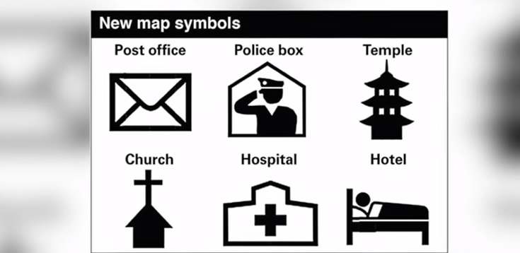 1 Apr New Symbols Introduced For Foreign Tourist Maps In Japan