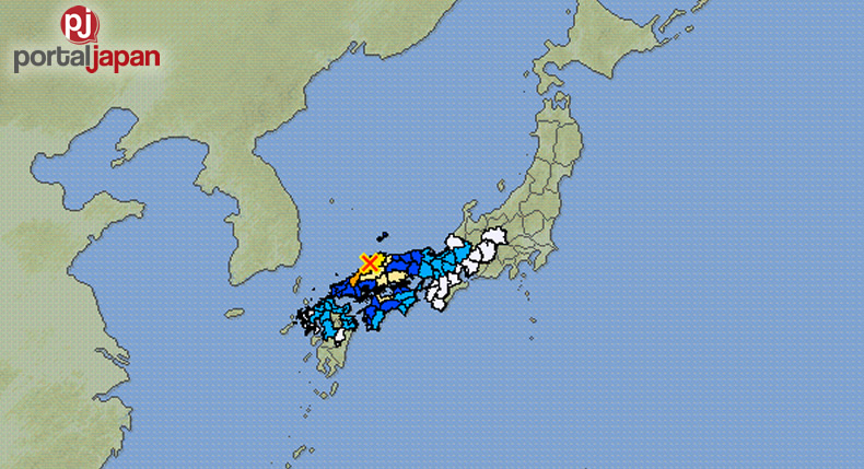 &nbspQuake shakes parts of western Japan