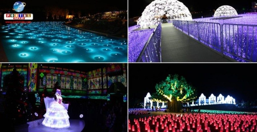 &nbspSpecial Illuminaton Light up at Lagunasia Park in Aichi