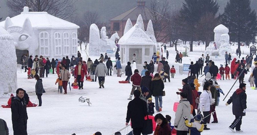 &nbspThe amazing winter wonderland of Iwate Snow Festival in Japan