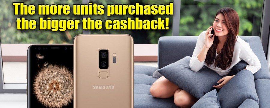 &nbspTokyo: 2-day special Cashback promo for smartphones and Tablets