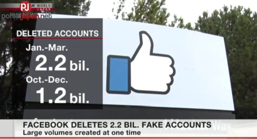 &nbspFacebook nag-delete ng 2.2 bilyong fake accounts