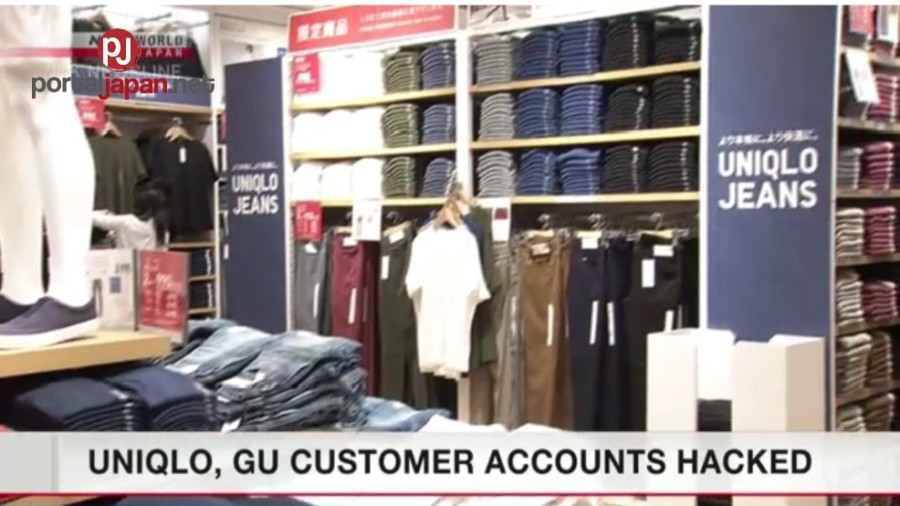 Account ng mga kostumer ng Uniqlo at GU, na-hacked