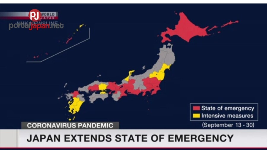 &nbspState of Emergency ng Japan, na extend