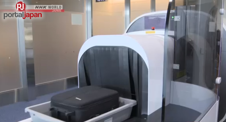 &nbspNag simula na ang bagong baggage-screening system sa Haneda