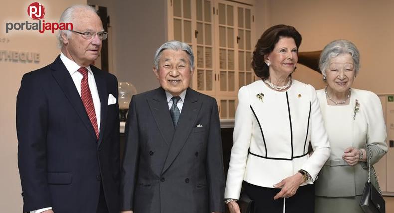 &nbspHari ng Sweden at Emperor Akihito, ipinag-diwang ang ika-150 taon na pagkaka-roon ng diplomasya ng 2 bansa
