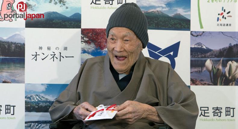 &nbspPinaka-matanda sa buong mundo sa edad na 112, binahagi ang kanyang sikreto