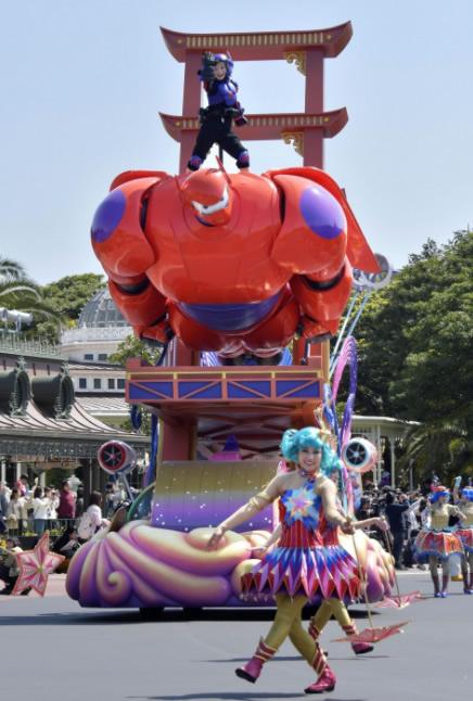 &nbspIpinakita bago mag premiere ang bagong parade ng Tokyo Disneyland