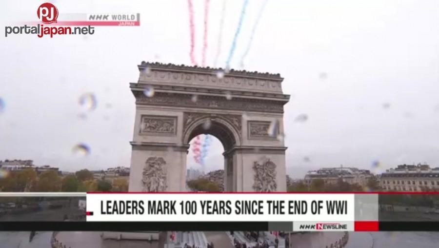 &nbspMinarkahan ng mga lider ng daigdig ang ika-100 taon na pagta-tapos ng WWI