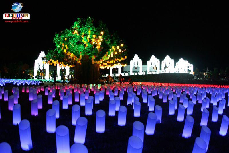 &nbspSpecial Illuminaton Light up at Lagunasia Park in Aichi