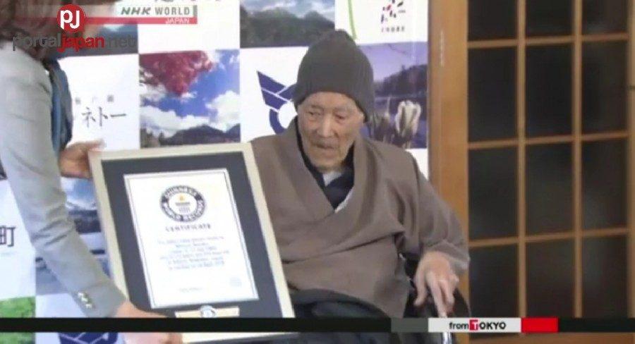 &nbspPinaka-matandang lalaki sa mundo, sumakabilang buhay na sa edad na 113