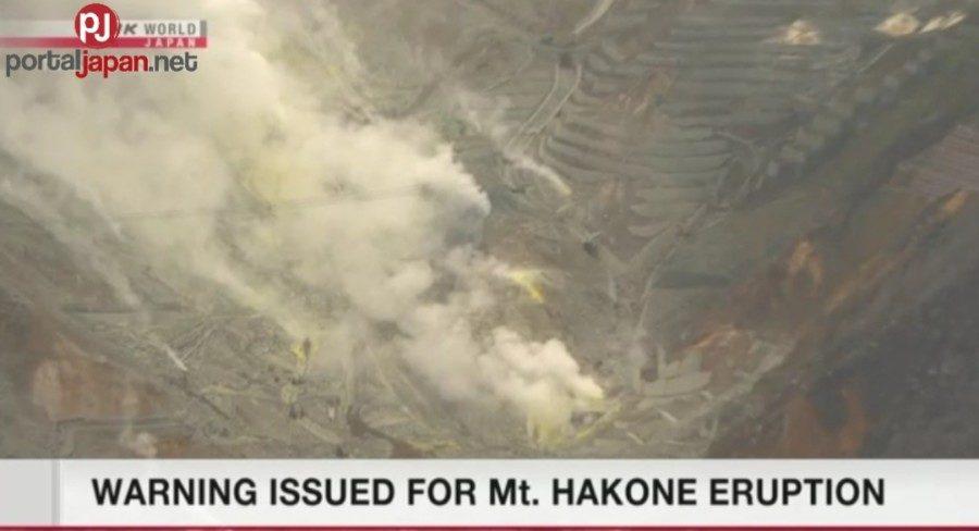 &nbspVolcanic alert level itinaas sa Mt. Hakone
