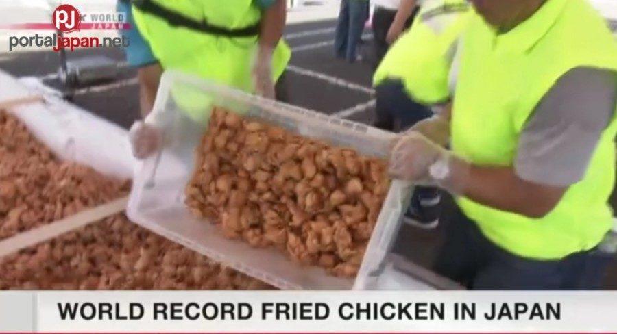 &nbspIsang siyudad sa Japan, nakapag-set ng bagong fried chicken record