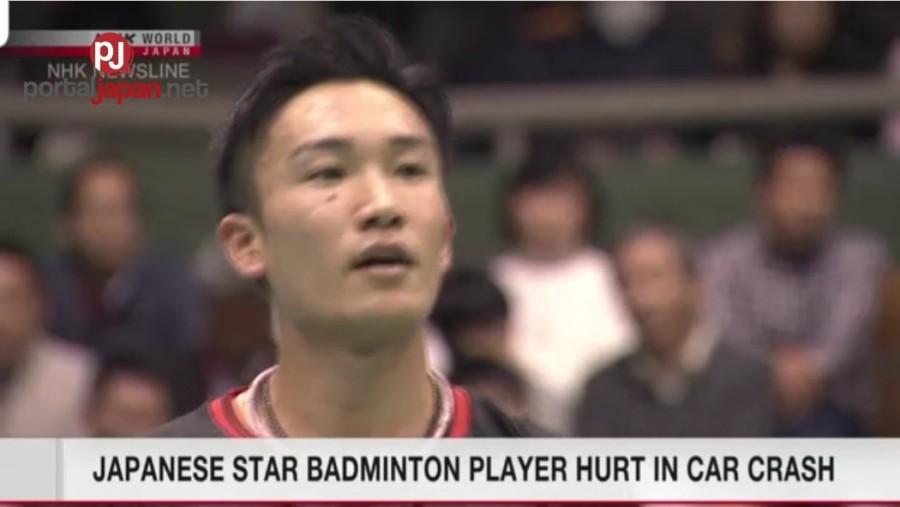 &nbspJapanese Badminton star, nagka-pinsala sa isang aksidente