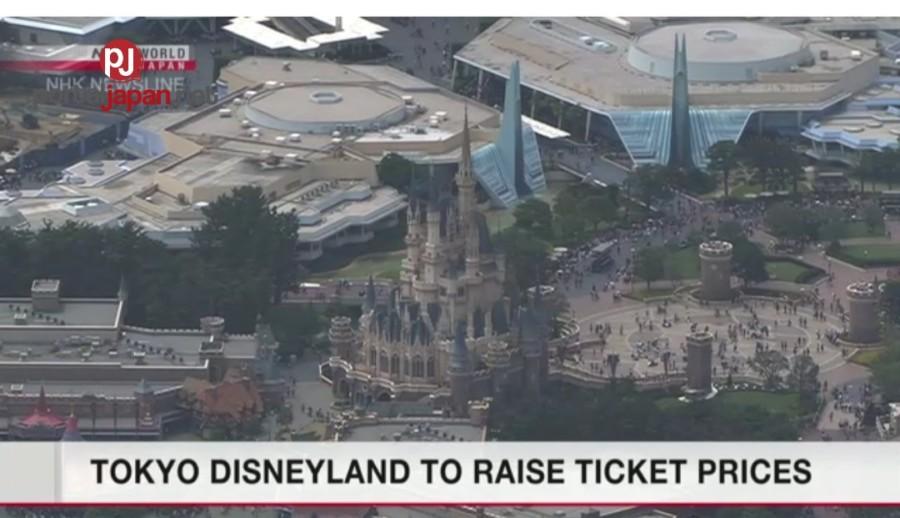 &nbspTokyo Disneyland itataas ang mga presyo ng tiket