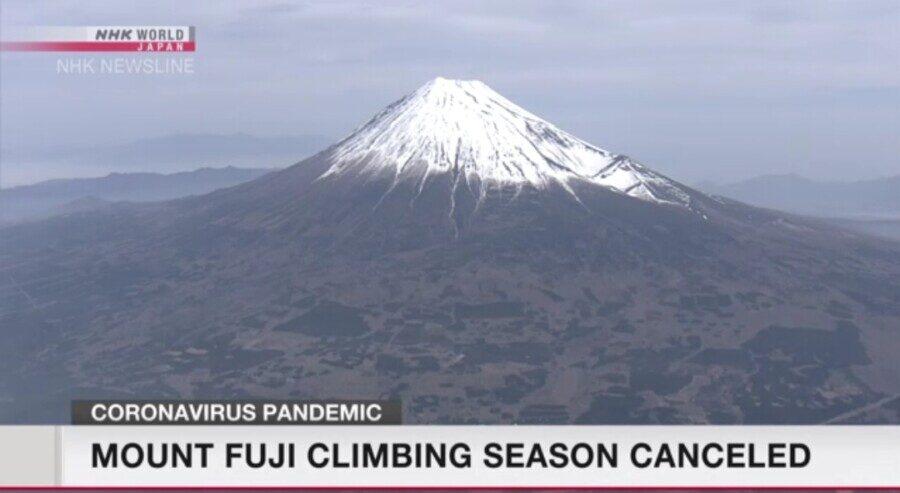 &nbspMt. Fuji isasara ngayong summer dahil sa Covid-19