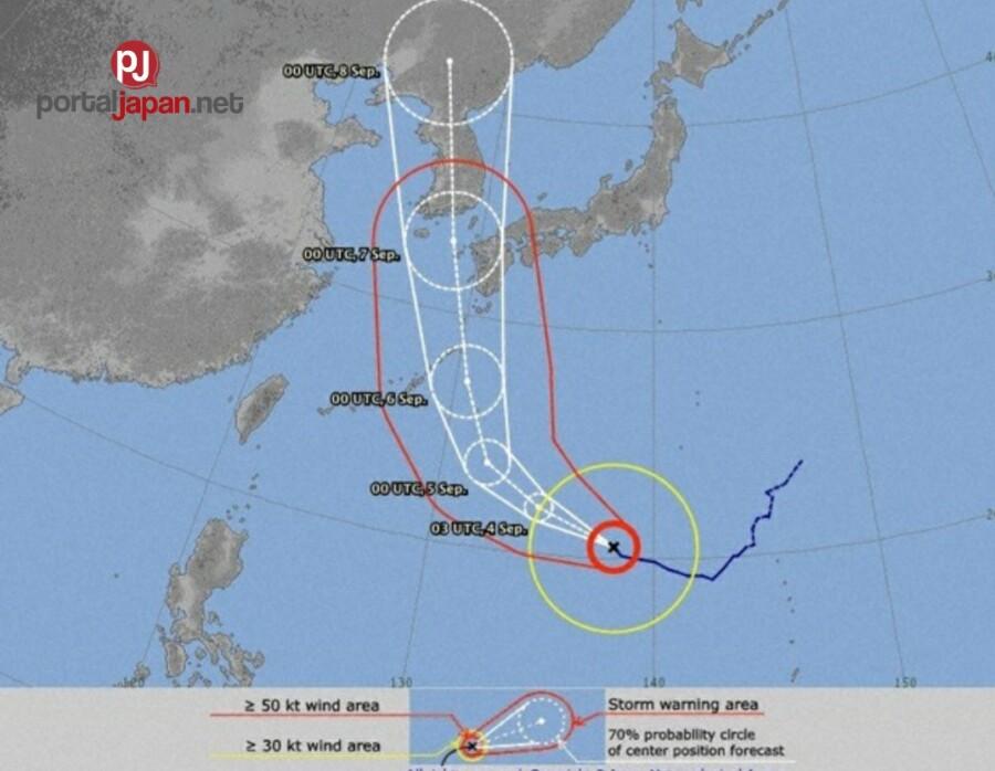 &nbspWeather Agency: Ang bagyong Haishen ay mas lalong lumakas habang papalapit ang landfall sa Timog-Kanlurang bahagi ng Japan.