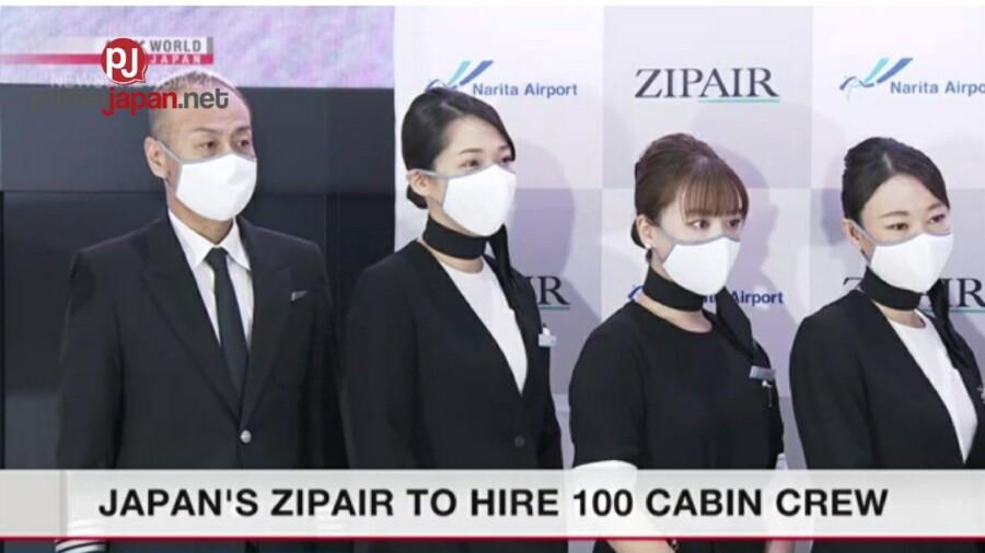 &nbspZipAir ng Japan nais mag-hire ng 100 cabin crew
