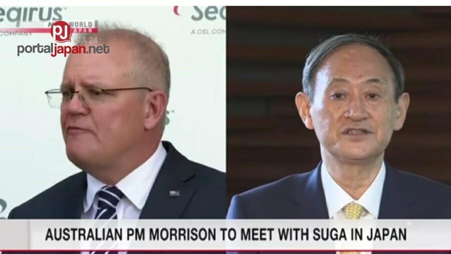 &nbspAng Prime Minister ng Australia na si Morrison ay makikipagkita kay Suga sa Japan