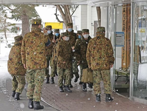 &nbspSelf Defence Force nurses ng Japan tutulong sa understaffed Hokkaido hospitals para labanan ang pandemic