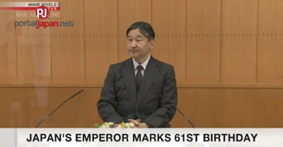 &nbspEmperor ng Japan ipinagdiwang ang ika-61 na kaarawan