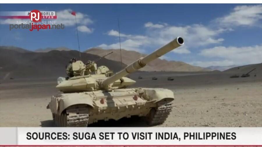 &nbspPM Suga, planong bisitahin ang bansang India at Pilipinas