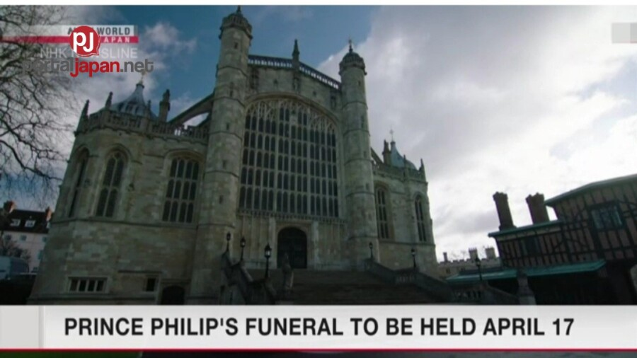 &nbspSevice Funeral ni Prince Philip, gaganapin sa ika-17 ng Abril
