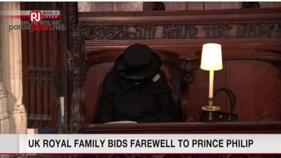 &nbspU.K royal family, namaalam na kay Prince Philip sa huling pagkaka-taon