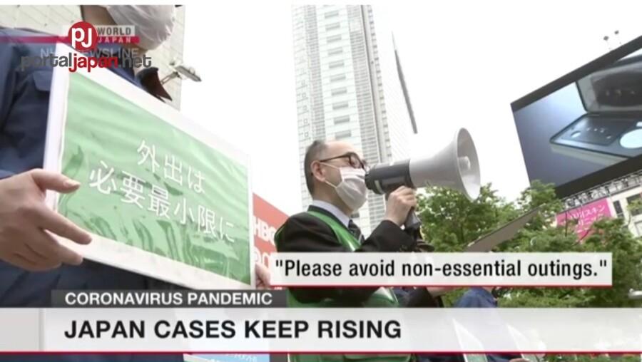 &nbspMga kaso ng coronavirus sa Japan, patuloy ang pag-laganap