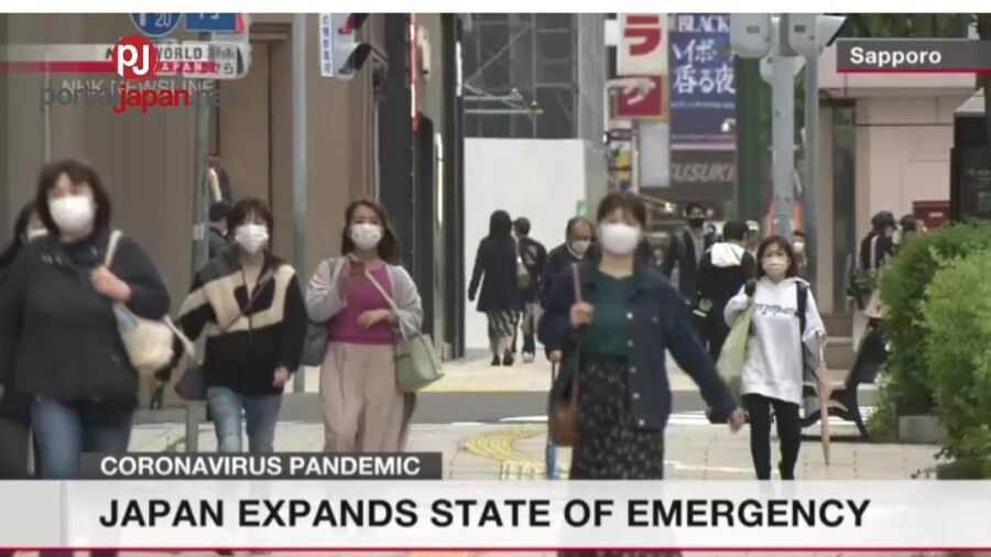 &nbspJapan, in-extend ang state of emergency