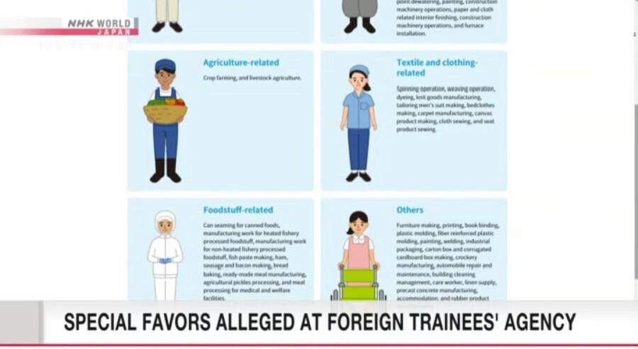 &nbspIlegal na pagbigay ng espesyal na pabor ng isang foreign trainees agency sa kanilang kaibigan kompanya, pinai-imbestigahan