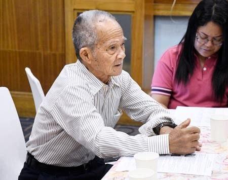 &nbspIsang 90 years old na Nikkeijin sa Pilipinas na naging stateless, hinandugan ng family registrar upang maging Japanese