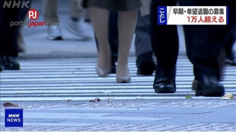 &nbsp10,000 trabahante sa Japan, inalok ng maagang pag-reretiro