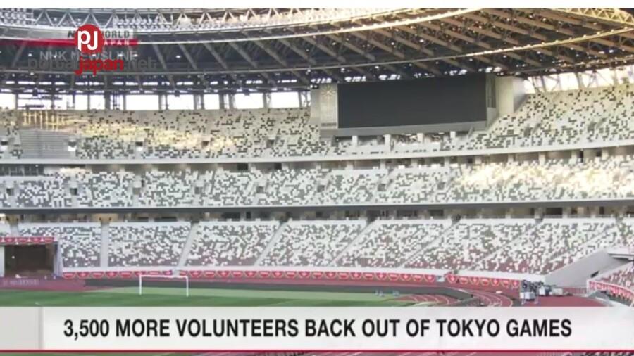 &nbspIlan sa 3,500 na mga lungsod na nag-boluntaryo, umatras sa Olympics Games