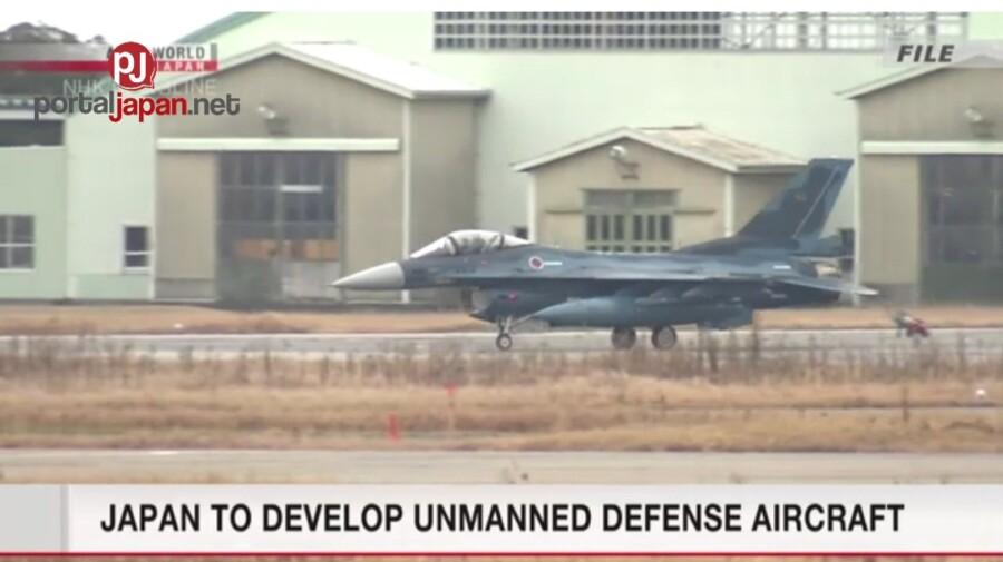 &nbspJapan, gagawa ng unmanned defense aircraft