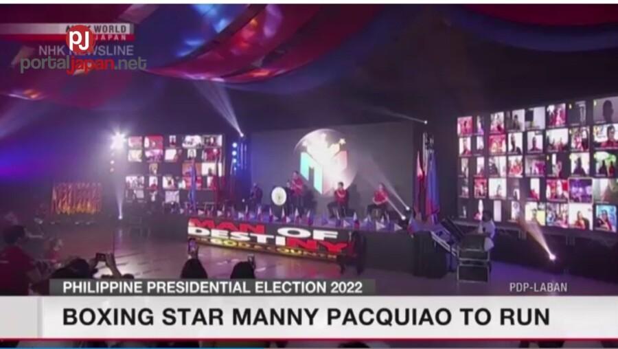 &nbspManny Pacquiao, tatakbo bilang Pangulo sa darating na halalan