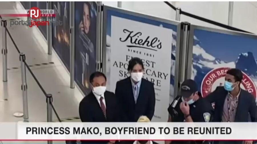 &nbspKasintahan ni Princess Mako, uuwi na sa Japan mula New York
