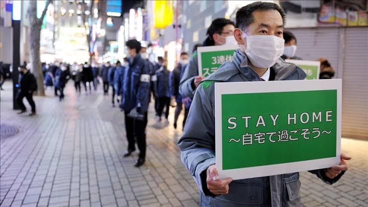 &nbspTokyo nag-ulat ng 299 coronavirus cases; nationwide tally 2,134